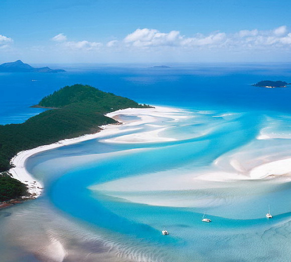 whitehaven beach australia how to get there